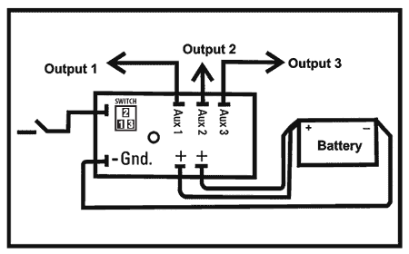 MZL-10 Delay Timer Wiring Diagram