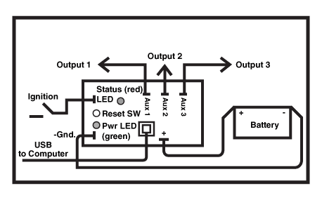 USB-1036 Delay Timer Wiring Diagram